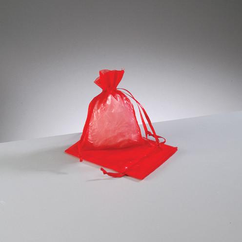 Organza Beutel rot