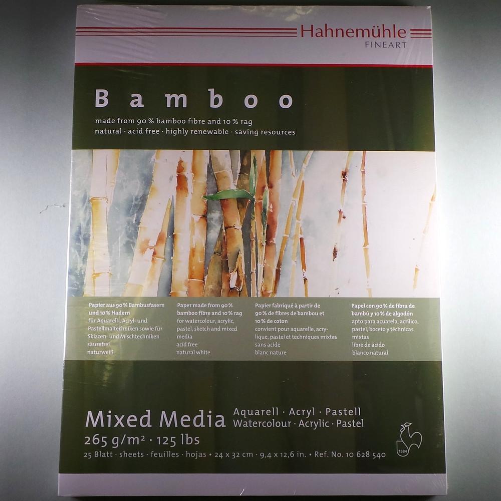 "MixedMediaBlock ""Bamboo"" 265g/m², 24x32cm, 25Blatt"