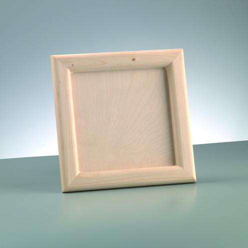 Holz-Bilderrahmen 23,5x23,5cm