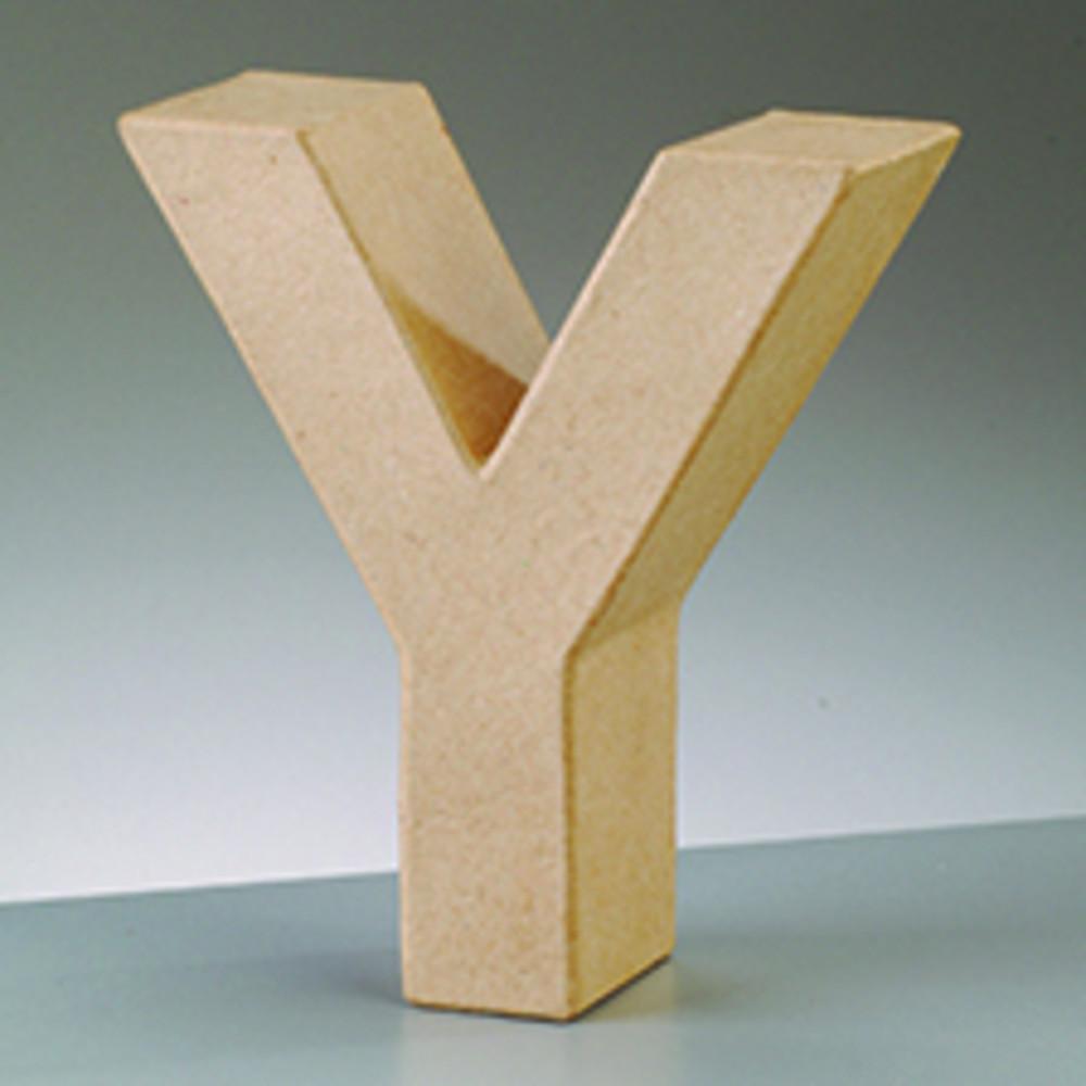 3D Deko-Papp-Buchstaben 10cm zum Basteln | HOBBYmade Shop