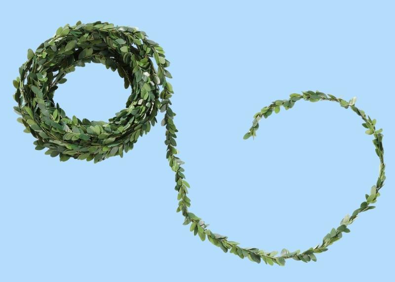 Girlande Buchsbaum 5m grün