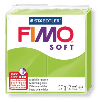 Modelliermasse FIMO® Soft grün 57g