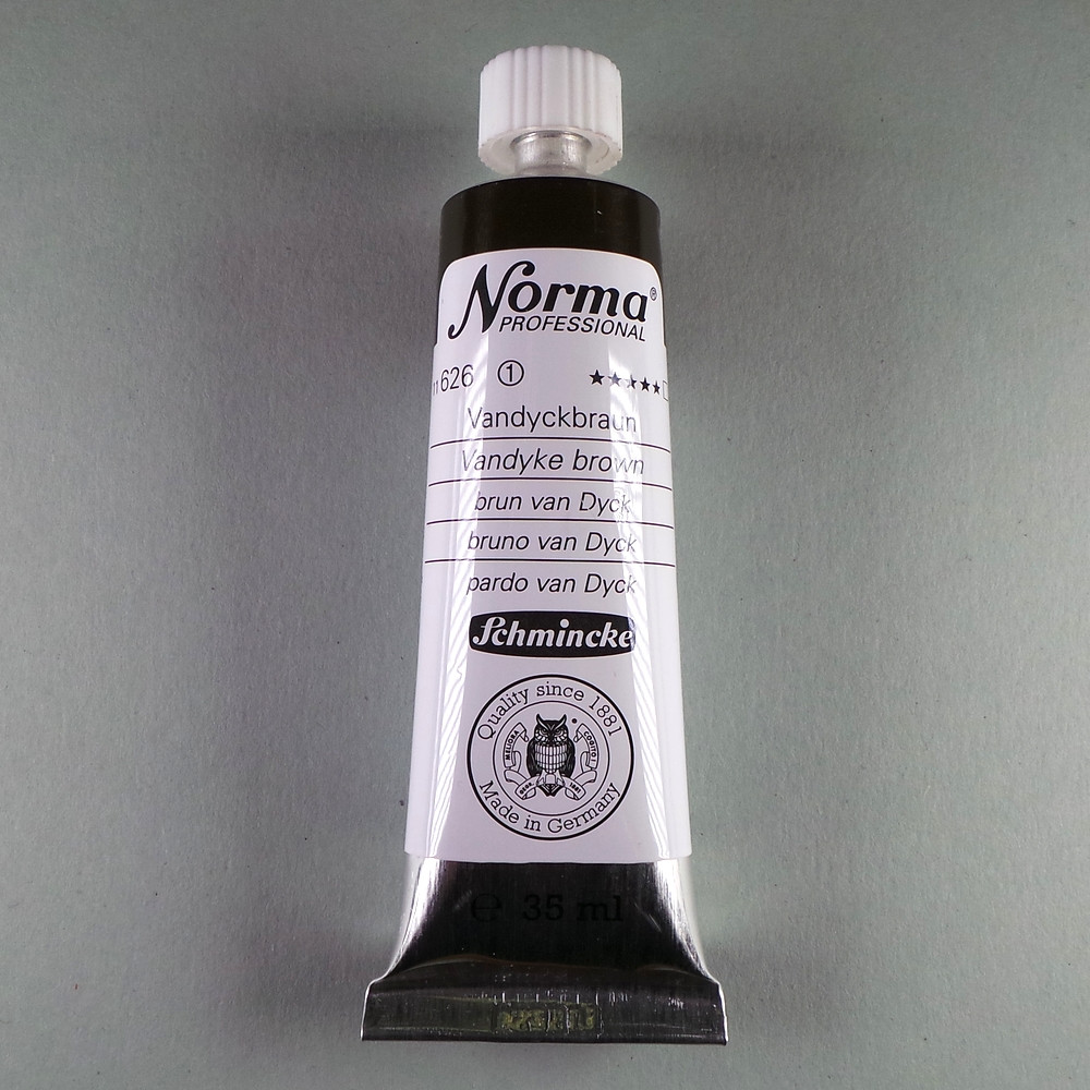 Ölfarbe Norma Vandyckbraun 35ml