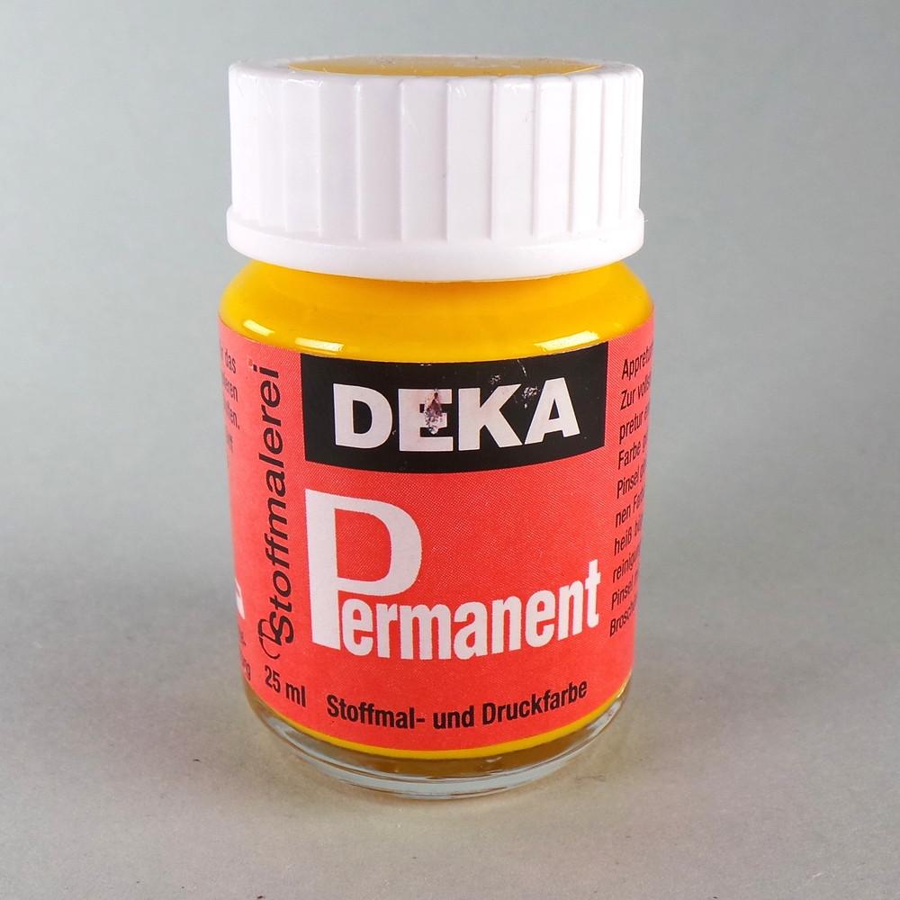 Stoffmalfarbe Gelb Deka-Permanent 25ml
