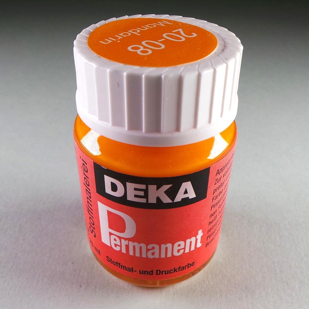 Stoffmalfarbe Mandarin Deka-Permanent 25ml