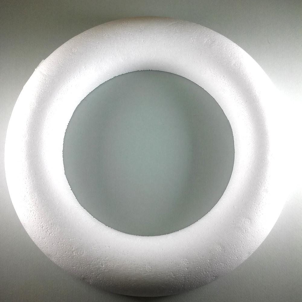 Styroporhalbringe  › 300 mm