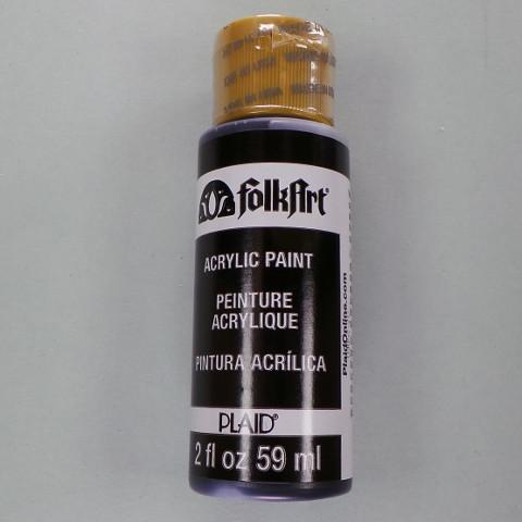 FolkArt Acrylfarbe pure black (schwarz)