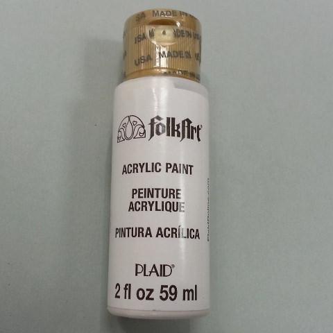 FolkArt Acrylfarbe titanium white