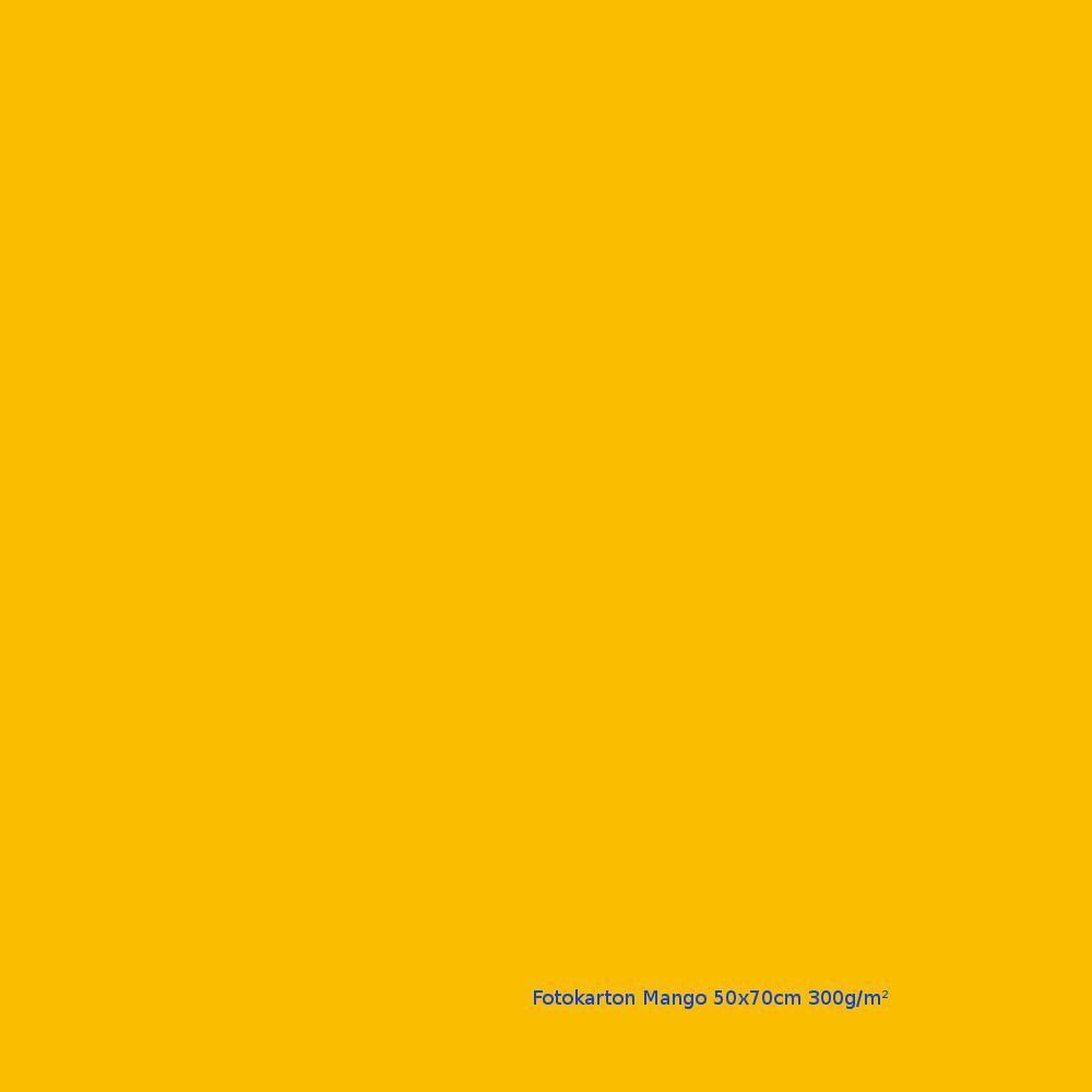 Fotokarton Mango 50x70cm