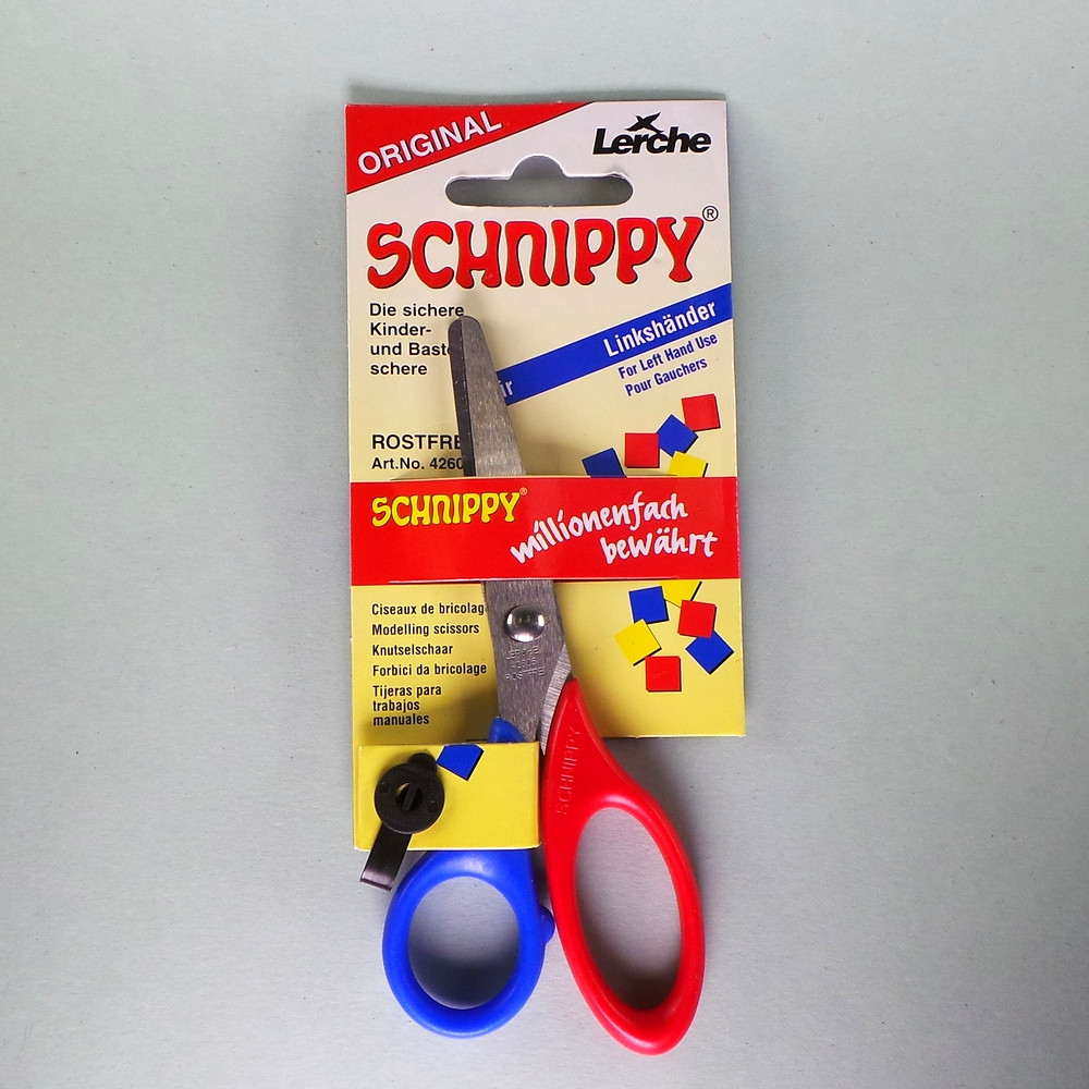 Linkshänder Bastelschere 13cm Schnippy