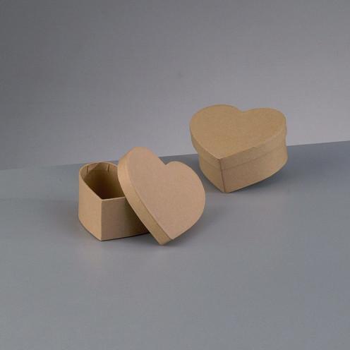 Papp-Box Herz mini 9cm