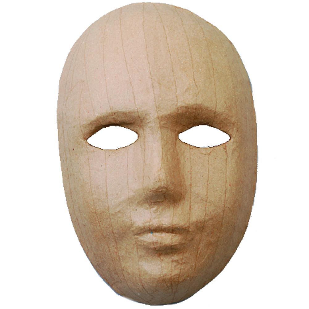 Pappmaske Gesicht
