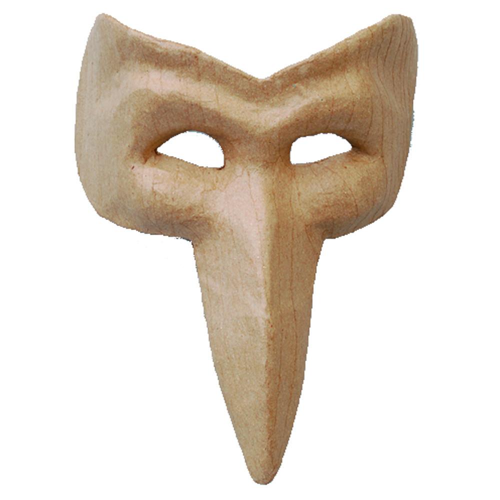 Papp-Maske Vogel