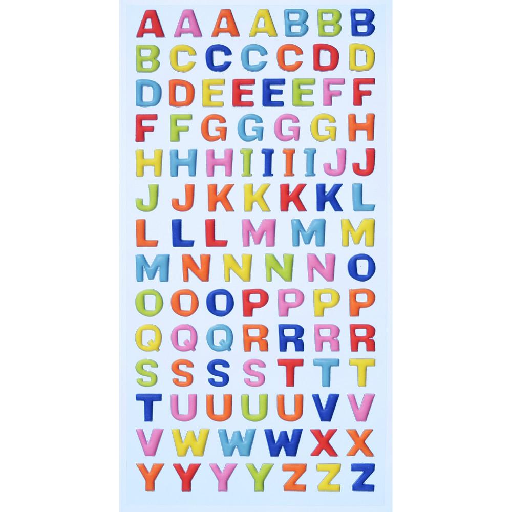SOFTY-Stickers Grossbuchstaben