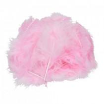 Marabufedern rosa