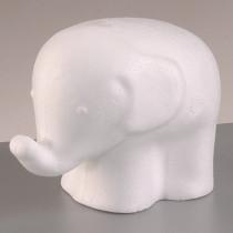 Styroporfigur Elefant