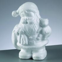 Styropor-Figur Weihnachtsmann