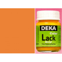 DEKA ColorLack Orange 25 ml