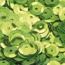Pailletten hellgrün