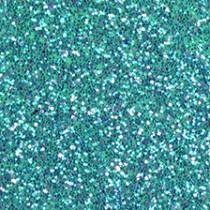 Moosgummiplatte glitter türkis
