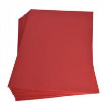 Moosgummiplatte rot