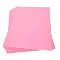 Moosgummiplatte rosa