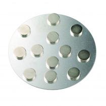 Magnete extra stark 10mm silber