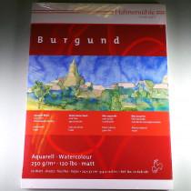 Aquarellkarton Block Burgund 24x32cm 250 g/m² 20 Blatt - matt