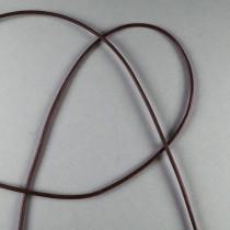 Lederband braun ca. 1,3mm 1m Ziegenleder