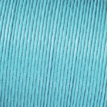 Baumwollkordel hellblau 1mm gewachst