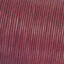 Baumwollkordel bordeaux rot
