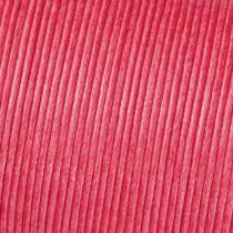 Baumwollkordel gewachst pink