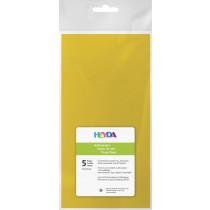 Seidenpapier gelb 50x70cm 5 Bögen