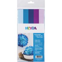 Seidenpapier Sortiment blautöne 50x70cm 10 Bögen