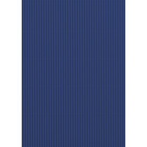 Wellpappe dunkelblau 50 x 70 cm 300 g/m²