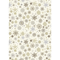 Karton 50x70 SweetHome goldene Sterne