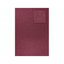 Glitterkarton A4 weinrot