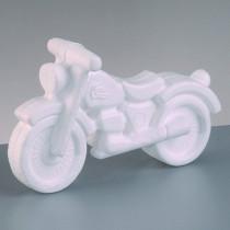 Styroporform Motorrad 11 x 17cm