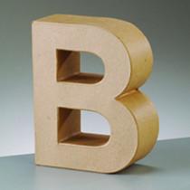 Deko Buchstabe B 10cm