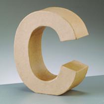 Deko Buchstabe C 10cm