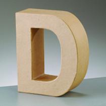 Deko Buchstabe D 10cm