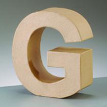Deko-Buchstabe G 10cm