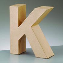 Deko Buchstabe K 10cm