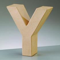 3D Deko Buchstabe Y