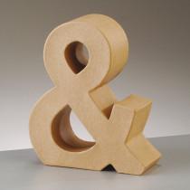 3D Zeichen aus Pappe 17,5cm &
