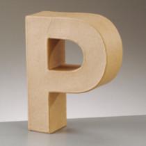 3D Dekobuchstabe aus Pappmache 17,5cm P
