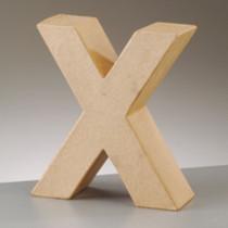 3D Dekobuchstabe aus Pappmache 17,5cm X