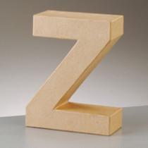 3D Dekobuchstabe aus Pappmache 17,5cm Z