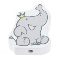 Schnullerketten Perle Elefant