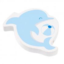 Schnullerketten Perle Delphin